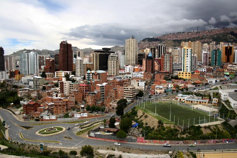Foto tomada desde el Parque Urbano Central. Foto: Sara Gordón