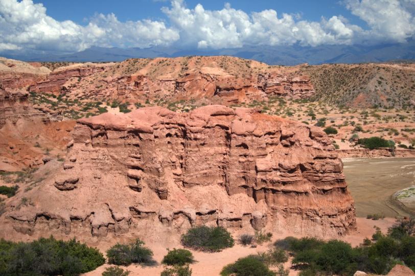 Formaciones rocosas parecidas a castillos que se derriten. Foto: Sara Gordón