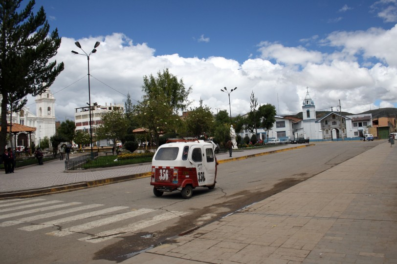 Mototaxi por las calles de Huancayo, Perú. Foto: Sara Gordón
