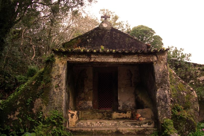 """La ermita Ecce Homo, la imagen en el interior simboliza la presentación de cristo a la población por Poncio Pilatos diciendo """"he aquí el hombre"""". Foto: Sara Gordón"""