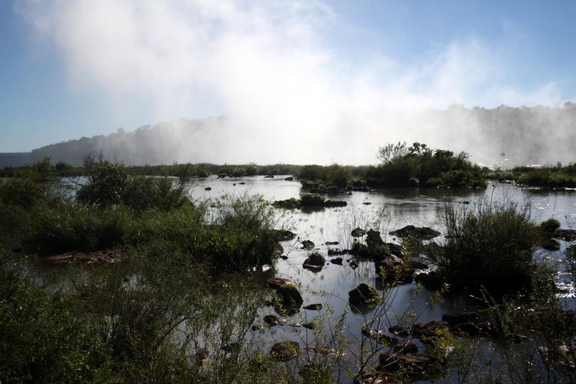 La garganta del diablo en el Parque Nacional de Iguazú, Argentina. Foto: Sara Gordón