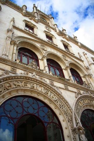 La estación de Rossio en el centro de Lisboa. Foto: Sara Gordón