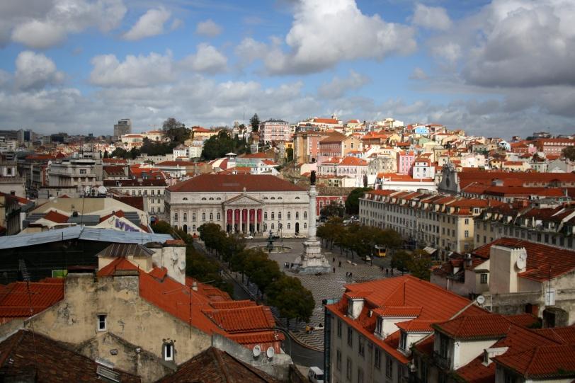 Vista de Lisboa. Foto: Sara Gordón