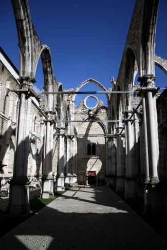 Es esqueleto del convento do Carmo. Foto: Sara Gordón
