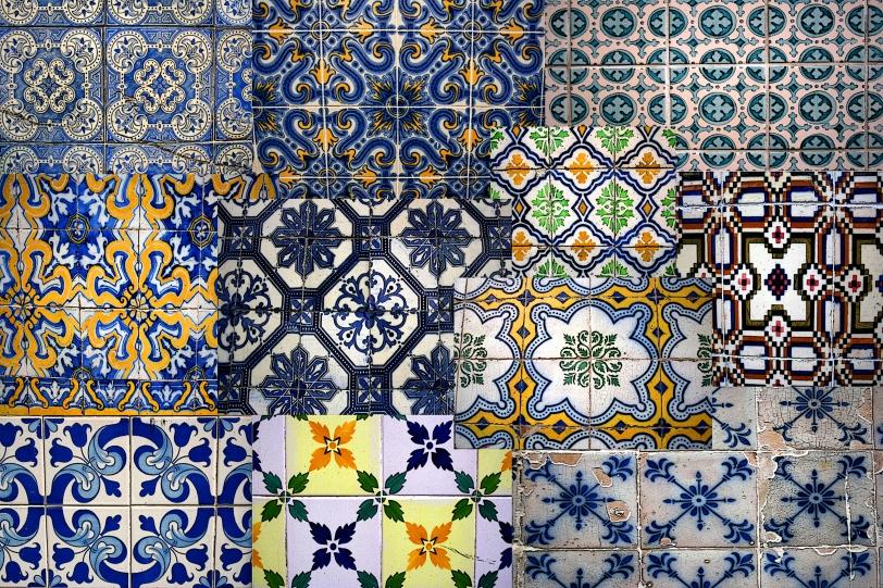 Los mosaicos decoran los edificios. Foto: Sara Gordón