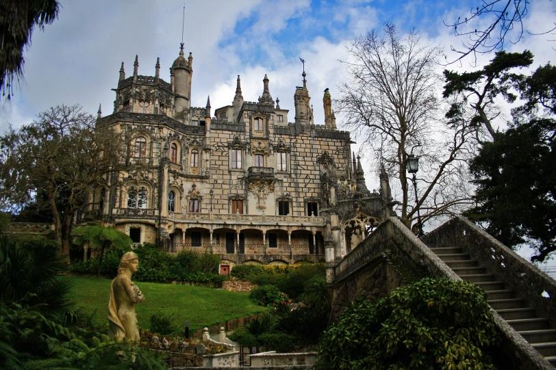 El palacio de la Quinta cuya decoración estuvo a cargo del escultor José da Fonseca. Foto: Sara Gordón