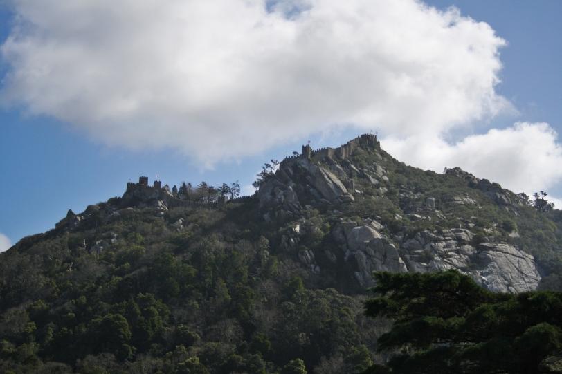Vistas desde la Quinta al Palacio da Pena. Foto: Sara