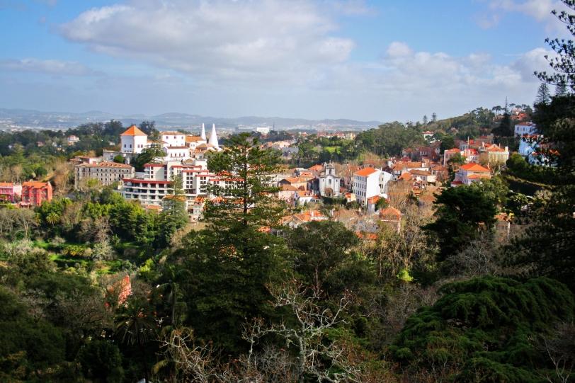 Vistas desde los jardines de la Quinta. Foto: Sara Gordón