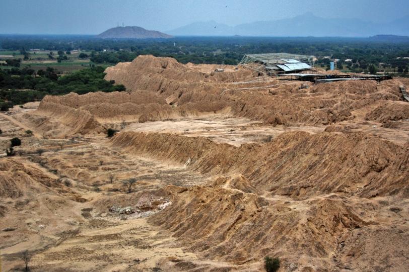 Es uno de los complejos arqueológicos más grandes de América. Foto: Sara Gordón
