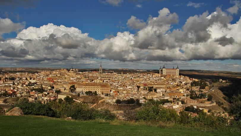 Vista de Toledo desde el Parador en el Cerro del Emperador. Foto: Sara Gordón