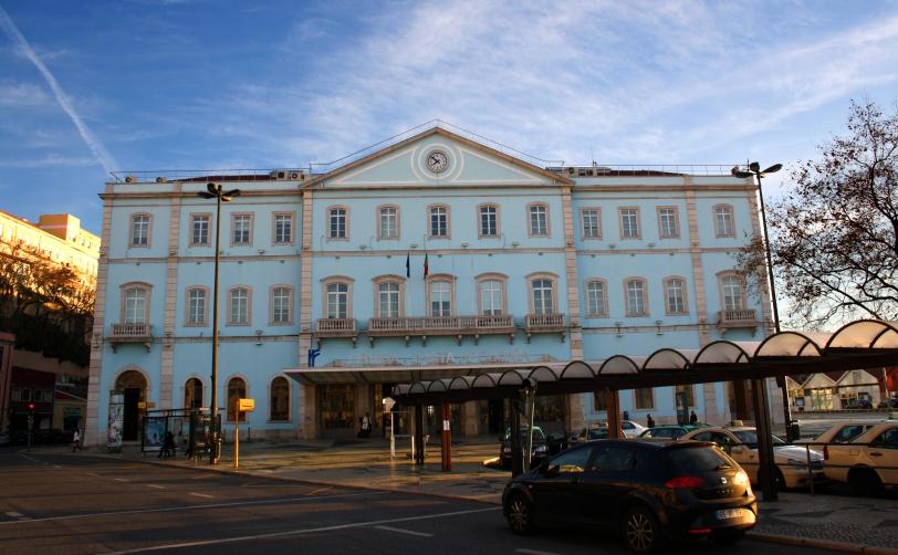 Estación de tren de Santa Apolonia, en Lisboa. Foto: Sara Gordón