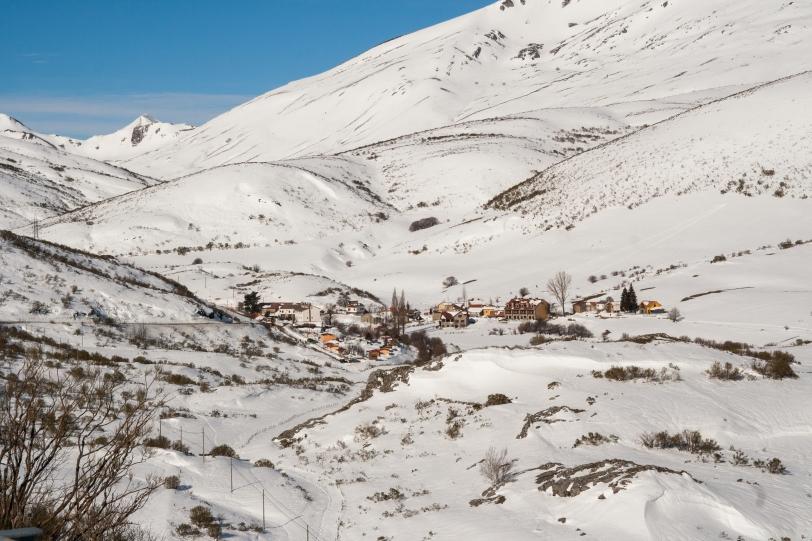 Es el último pueblo de León antes de entrar en Asturias por el Puerto de San Isidro. Foto: Sara Gordón