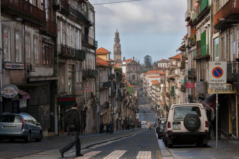 Un ejemplo de las cuestas que inundan la ciudad. Foto: Sara Gordón