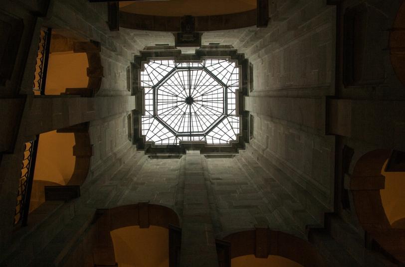 Interior del Centro Portugués de Fotografía. Foto: Sara Gordón