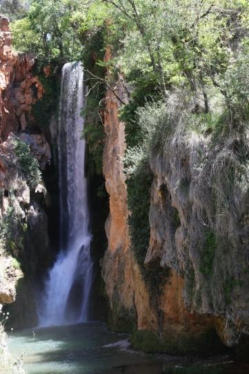 La cascada Cola de Caballo es la más espectacular con más de 50 metros. Foto: Sara Gordón