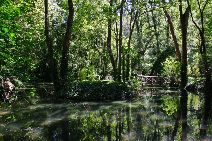 El responsable del paisaje es el río Piedra. Foto: Sara Gordón