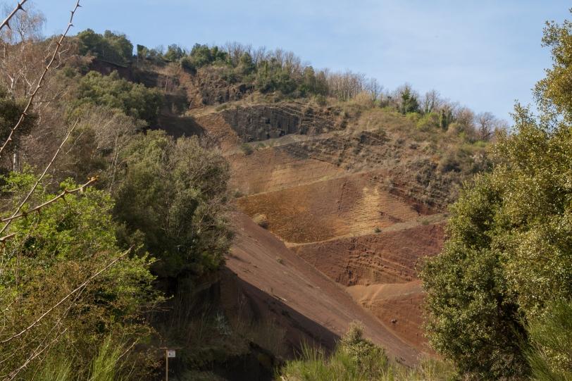 La colada de lava y el cráter tienen una extensión de unos 20 km2. Foto: Sara Gordón