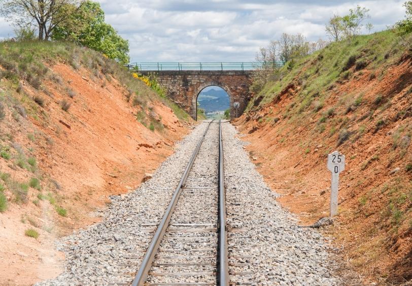 En 1991 el tren dejó de utilizarse para el tráfico de pasajeros y se reanudó en el 2003. Foto: Sara Gordón