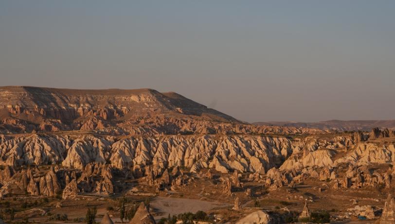 Capadocia se extiende en una región de unos 50 kilometros. Foto: Sara Gordón