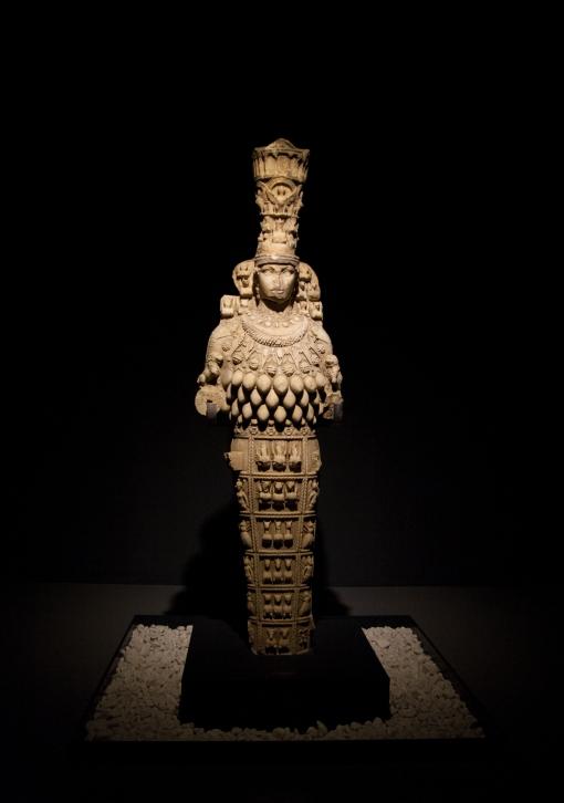Éstas son réplicas pero la original debió estar revestida con oro. Foto: Sara Gordón