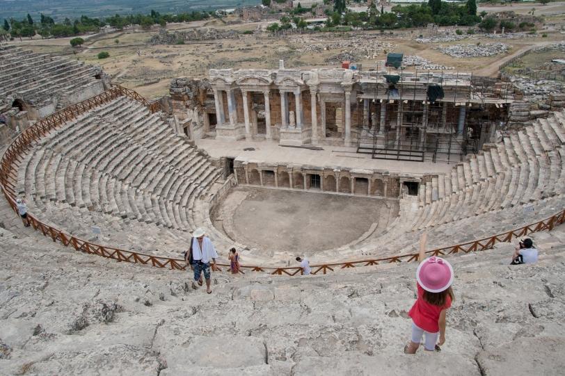 La ciudad fue establecida por el rey de Pérgamo en el 180 a.C. Foto: Sara Gordón