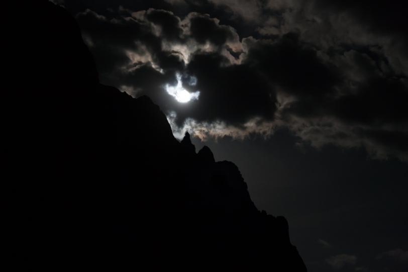 No podía faltar la luna. Foto: Sara Gordón