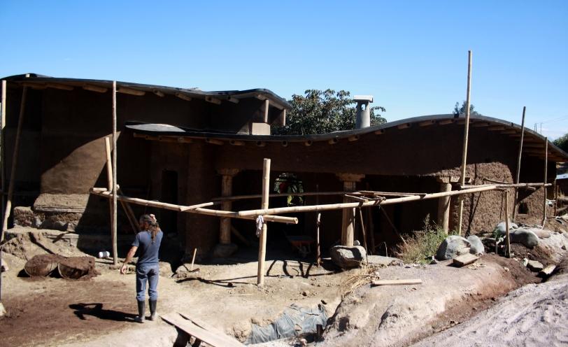 La casa de cob. Foto: Sara Gordón