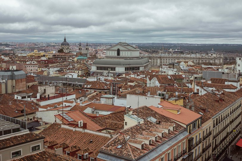 Vistas de Madrid. Foto: Sara Gordón