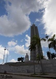 La plaza de la revolución. Foto: Sara Gordón