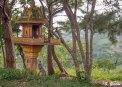 La ubicación exacta de estas pequeñas casas se eligen después de consultar a un sacerdote. Foto: Sara Gordón