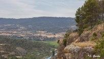 Entrepeñas es un embalse situado en la Alcarria Baja de Guadalajara, en el cauce del río Tajo. Foto: Sara Gordón